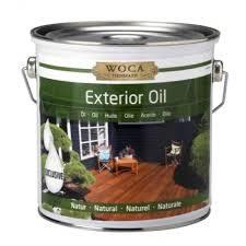 Exterieur olie