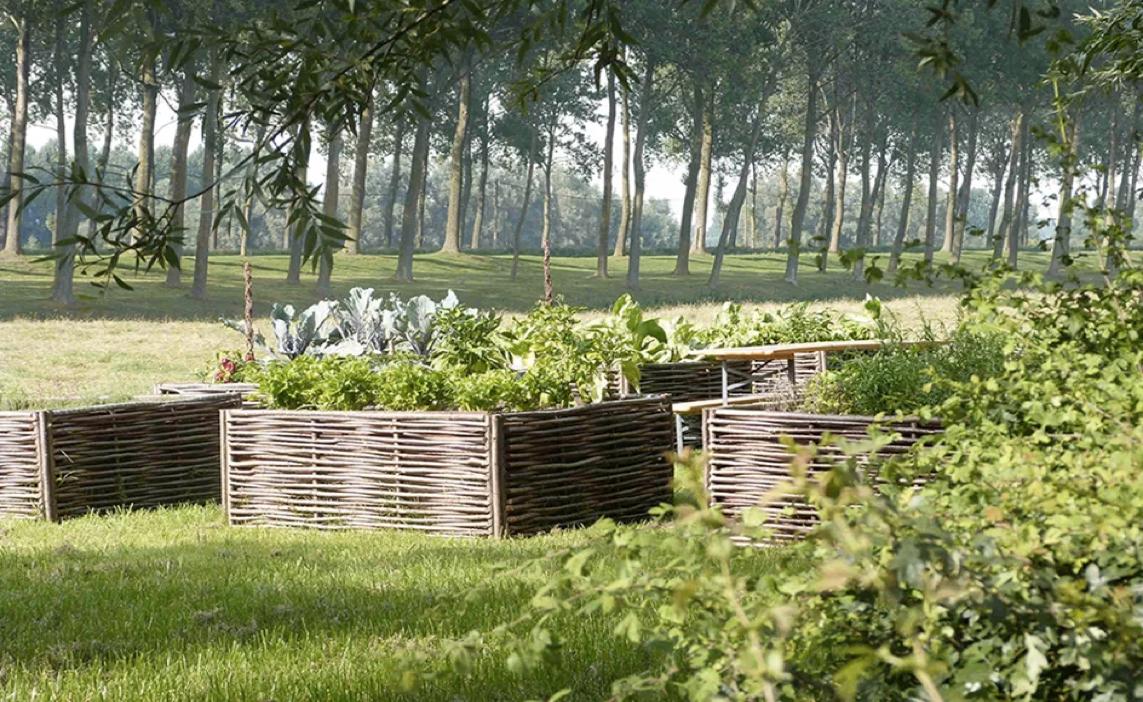Laat u inspireren door ecologische en duurzame tuin- en bouwmaterialen