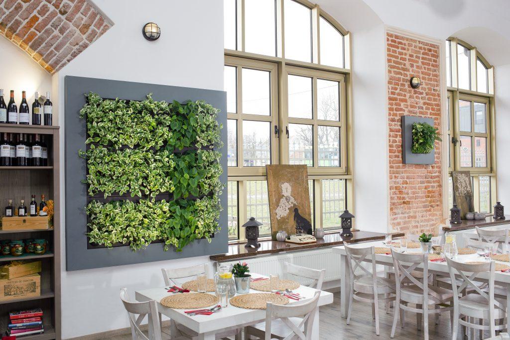 groene wand indoor