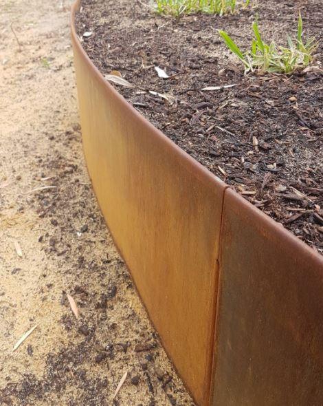 Corten staal roestkleur